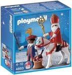 Playmobil Sinterklaas Set | 4893 Sinterklaas, Zwarte Piet & Amerigo (Ozosnel) HARD-TO-FIND bargadgets.nl verzamelgadgets.nl