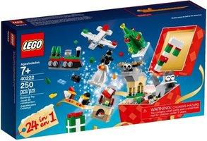 LEGO 40222 Kerst Bouwset 24in1