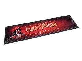 Captain Morgan rubberen Barmat Bar-Runner