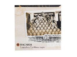 Bacardi Canvas Schilderijen Set: 'Legends' (3 stuks)