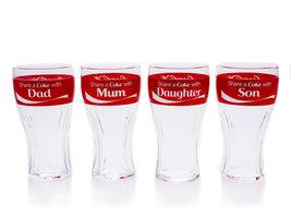 Coca Cola Glazen Set 'Share a Coke with...' (4 stuks)