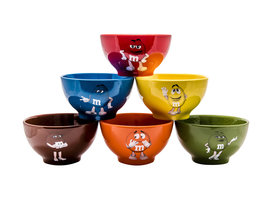 M&M's Bowl Schalen Set | 6 stuks