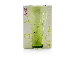 Coca Cola Mc Donalds Glas - Geel