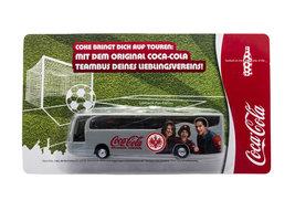Coca Cola Spelersbus Eintracht Frankfurt