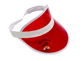 Malibu Zonneklep (rood)