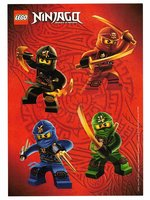 LEGO Ninjago Masters of Spinjitzu Stickervel