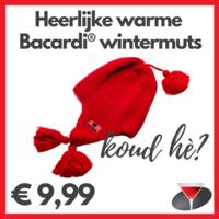 Bacardi gebreide Muts