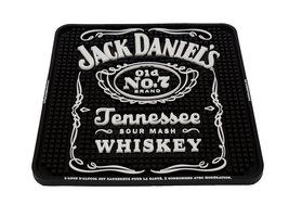 Jack Daniel's Old No 7 Brand rubberen Barmat (vierkant)