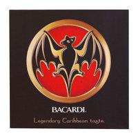 Bacardi Canvas Schilderij BAT-Logo