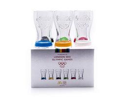 Coca Cola Mc Donalds Glazen Set - London 2012 Olympic Games