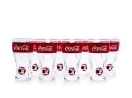 Coca Cola Glazen Set FIFA World Cup 2014 Brasil (8 glazen)