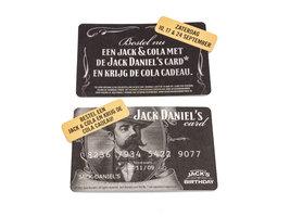 Jack Daniel's Viltjes - Jack Daniel's Card (6 stuks)