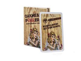 Bacardi Oakheart Poaker Kaarten - Pokerkaarten Kaartspel