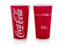 Coca Cola 3D Drinkbekers (2 stuks)