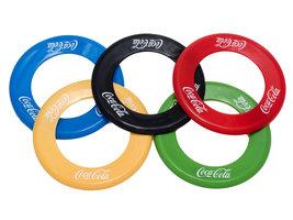 Coca Cola Olympische Frisbee Ringen Set (5 stuks)