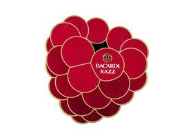 Bacardi Razz XXL Sticker 'Framboos' (2 stuks)