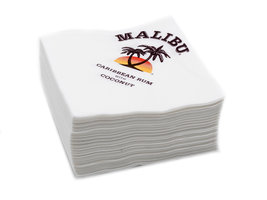 Malibu Servetten Wit (50 stuks)