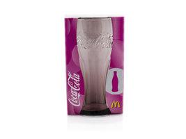 Coca Cola Mc Donalds Contour Glas - Roze