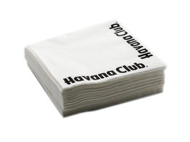 Havana Club Servetten Wit (50 stuks)