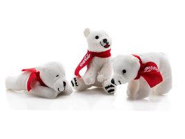 Coca Cola Pluche IJsberen (3 stuks)