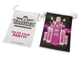 Trojka Pink Vodka Liqueur Vlaggenlijn