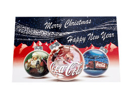 Coca Cola Kerstkaarten (10 stuks)