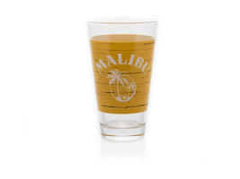 Malibu Cocktail Glas (geel)