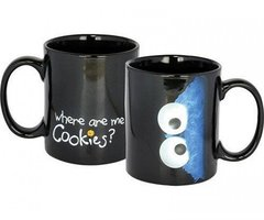 Sesamstraat Koffiemok Koekiemonster 'Where are me Cookies?'