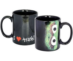 Sesamstraat Koffiemok Oscar 'I love Trash!'