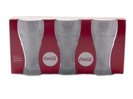 Coca Cola Contour Glas (set 3 stuks)