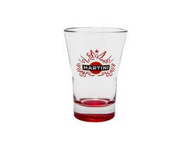Martini Red Promo Glas