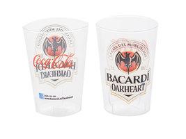 Bacardi Oakheart & Coca Cola kunststof Beker (10 stuks)