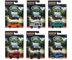 Matchbox Land Rover Collection | 6 stuks