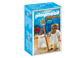 Playmobil 9523 History | Griekse Goden: Poseidon