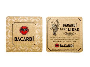Bacardi Viltjes (6 stuks) Goud