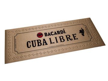 Bacardi Cube Libre Bar-Runner Barmat