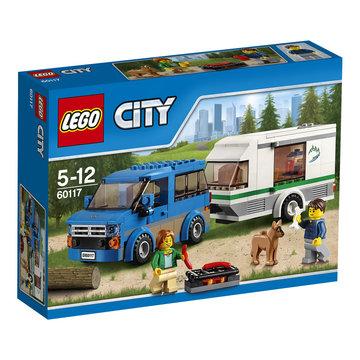 LEGO City 60117 Bus & Caravan