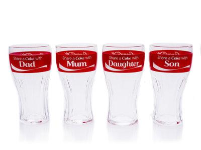 Coca Cola Glazen Set Share a Coke bargadgets.nl