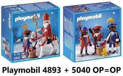 Playmobil 4893 5040 Sinterklaas Zwarte Pieten Amerigo bargadgets.nl