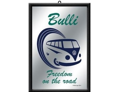 Spiegel Volkswagen T1 Bulli 'Freedom on the Road' bestelgeschenk.nl