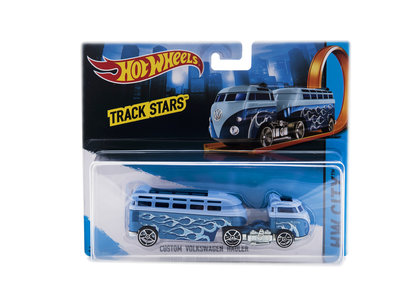 Hot Wheels Track Stars Custom Volkswagen Hauler bargadgets.nl verzamelgadgets.nl