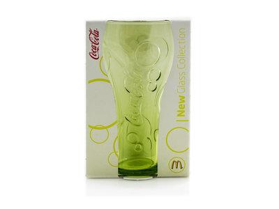 Coca Cola Mc Donalds Glas - Geel bargadgets.nl